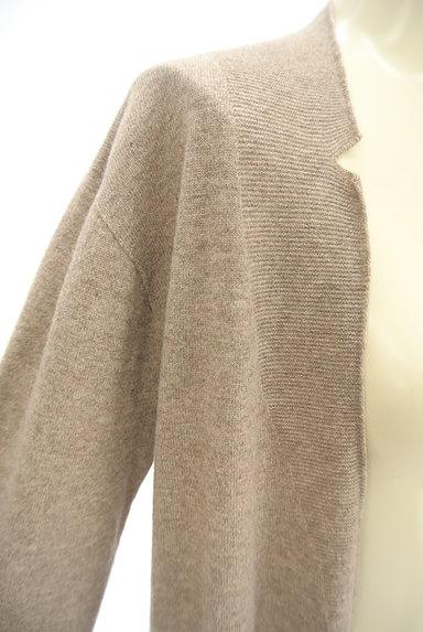Mademoiselle NON NON(マドモアゼルノンノン)の古着「フロントオープンロングカーディガン(カーディガン・ボレロ)」大画像4へ