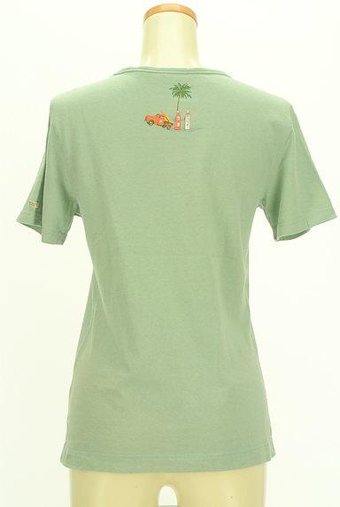Mademoiselle NON NON(マドモアゼルノンノン)の古着「クマプリントTシャツ(Tシャツ)」大画像2へ