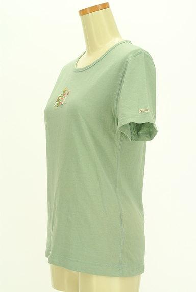 Mademoiselle NON NON(マドモアゼルノンノン)の古着「クマプリントTシャツ(Tシャツ)」大画像3へ