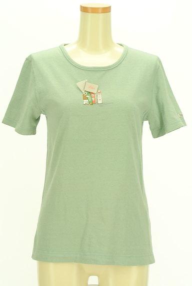 Mademoiselle NON NON(マドモアゼルノンノン)の古着「クマプリントTシャツ(Tシャツ)」大画像4へ