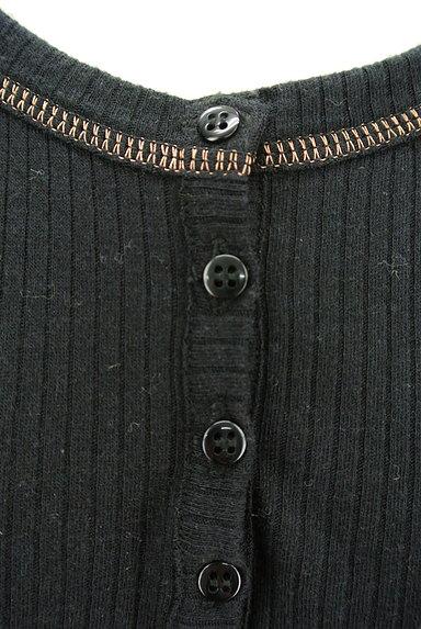 Comptoir des Cotonniers(コントワーデコトニエ)の古着「ヘンリーネックステッチリブカットソー(ニット)」大画像4へ
