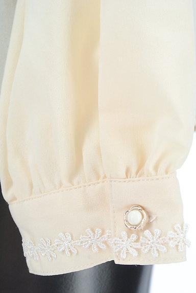 axes femme(アクシーズファム)の古着「刺繍入りレース&フリルブラウス(ブラウス)」大画像5へ
