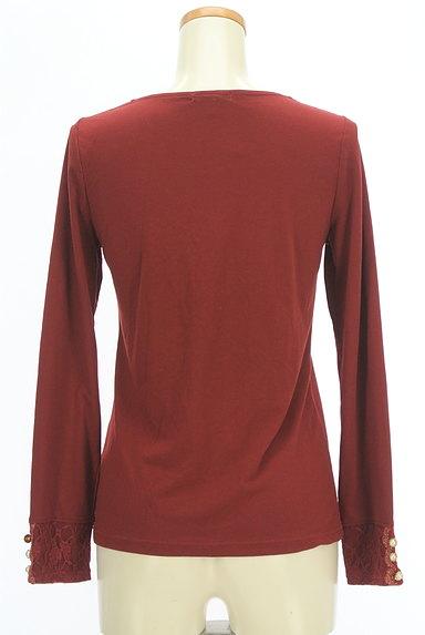 axes femme(アクシーズファム)の古着「装飾レース切替カットソー(カットソー・プルオーバー)」大画像2へ