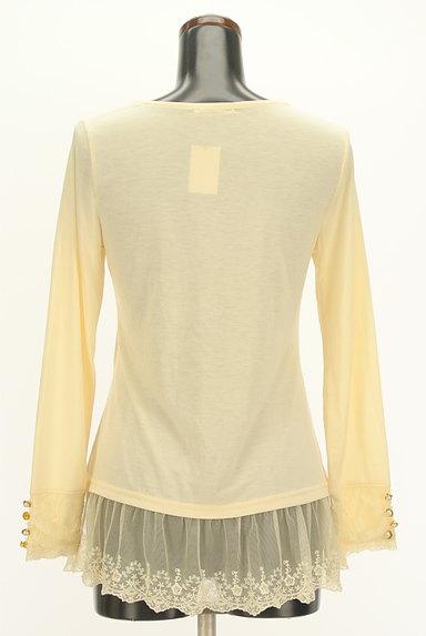 axes femme(アクシーズファム)の古着「刺繍チュール裾装飾カットソー(カットソー・プルオーバー)」大画像2へ