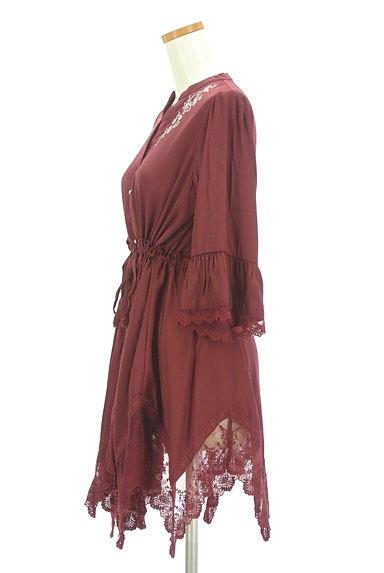 axes femme(アクシーズファム)の古着「イレギュラーヘム刺繍レースワンピース(ブラウス)」大画像3へ