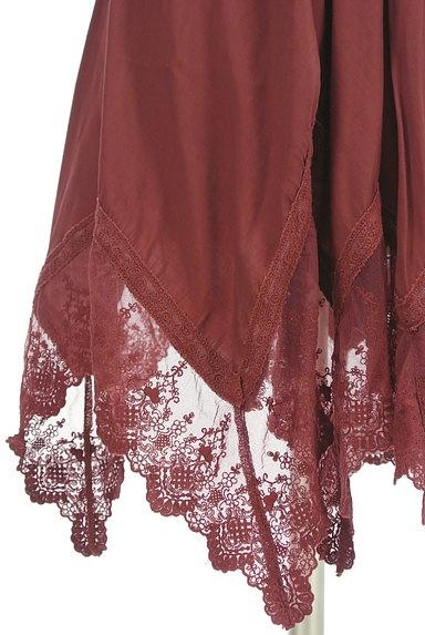 axes femme(アクシーズファム)の古着「イレギュラーヘム刺繍レースワンピース(ブラウス)」大画像5へ