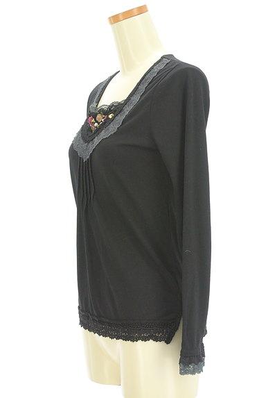 axes femme(アクシーズファム)の古着「装飾レースカットソー(カットソー・プルオーバー)」大画像3へ