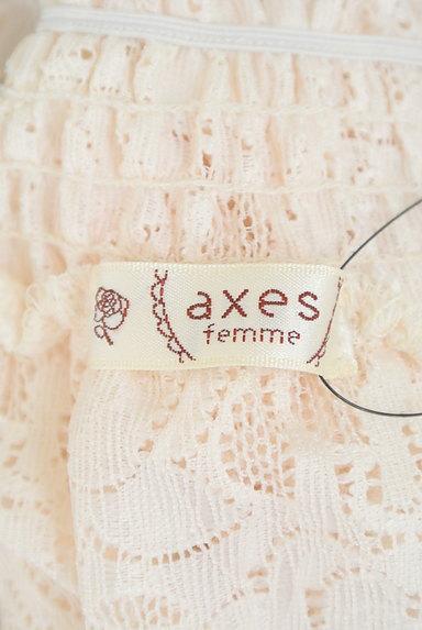 axes femme(アクシーズファム)の古着「花柄シアー総レースオフショルカットソー(カットソー・プルオーバー)」大画像6へ