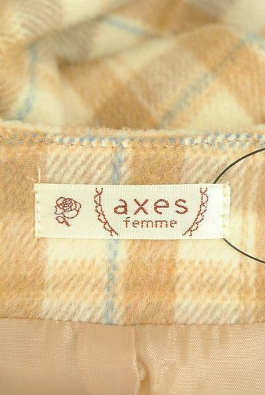 axes femme(アクシーズファム)の古着「ノーカラーVネックロングコート(コート)」大画像6へ