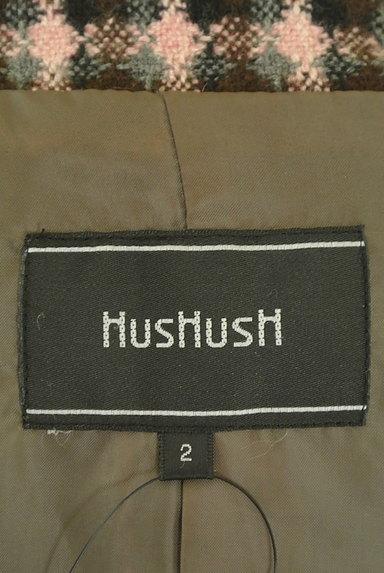 HusHusH(ハッシュアッシュ)の古着「チェック柄ウール混ミドル丈コート(コート)」大画像6へ