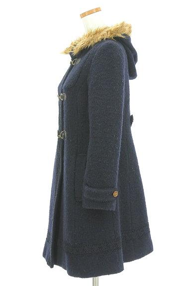 axes femme(アクシーズファム)の古着「刺繍レースロングダッフルコート(コート)」大画像3へ