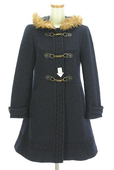 axes femme(アクシーズファム)の古着「刺繍レースロングダッフルコート(コート)」大画像4へ