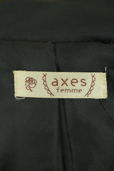 axes femme(アクシーズファム)の古着「刺繍レースロングダッフルコート(コート)」大画像6へ