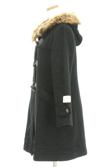 axes femme(アクシーズファム)の古着「ファーフードロングダッフルコート(コート)」大画像3へ