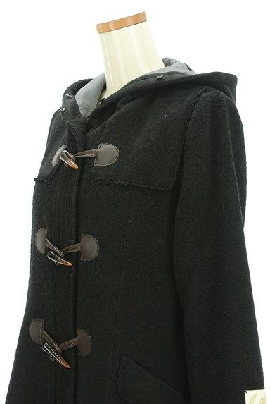 axes femme(アクシーズファム)の古着「ファーフードロングダッフルコート(コート)」大画像4へ