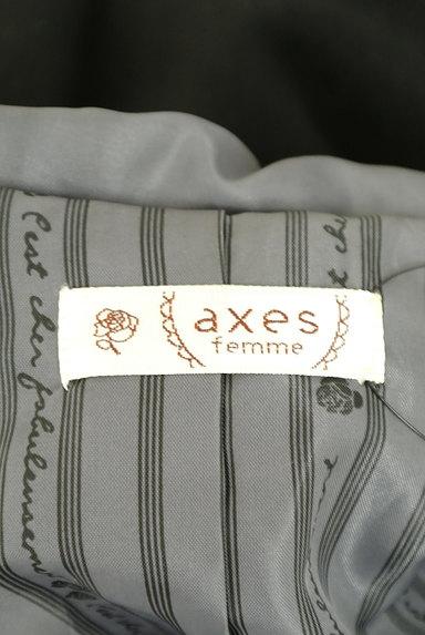 axes femme(アクシーズファム)の古着「ファーフードロングダッフルコート(コート)」大画像6へ