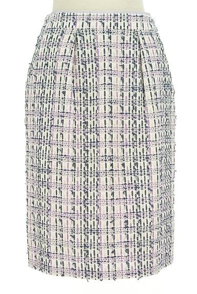 MISCH MASCH(ミッシュマッシュ)の古着「膝下丈ツイード調タイトスカート(スカート)」大画像1へ