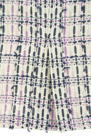 MISCH MASCH(ミッシュマッシュ)の古着「膝下丈ツイード調タイトスカート(スカート)」大画像5へ