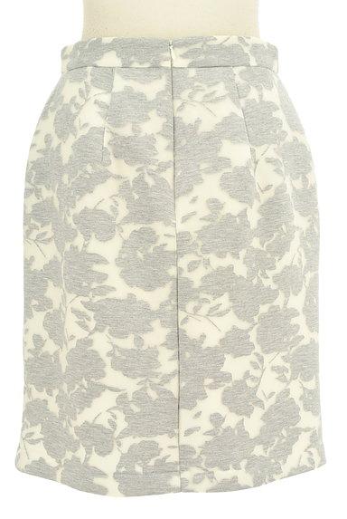 MISCH MASCH(ミッシュマッシュ)の古着「花柄オーガンジー膝丈タイトスカート(スカート)」大画像2へ