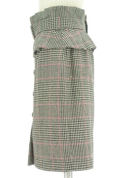Rirandture(リランドチュール)の古着「タックフリルベルト付ミディ丈スカート(スカート)」大画像3へ