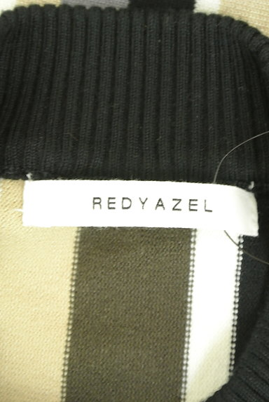 REDYAZEL(レディアゼル)の古着「ストライプ柄モックネックニット(ニット)」大画像6へ