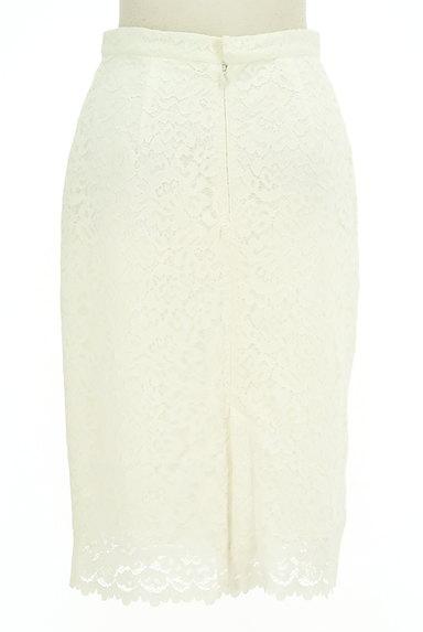 VICKY(ビッキー)の古着「膝下丈花柄総レースタイトスカート(スカート)」大画像2へ