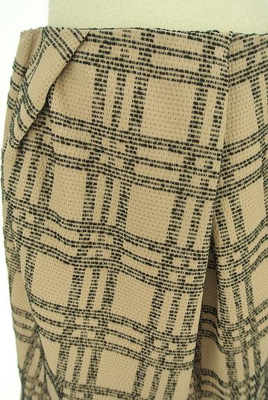 nano・universe(ナノユニバース)の古着「膝上丈チェック柄タックスカート(スカート)」大画像4へ