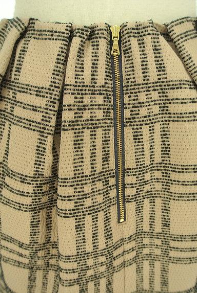 nano・universe(ナノユニバース)の古着「膝上丈チェック柄タックスカート(スカート)」大画像5へ