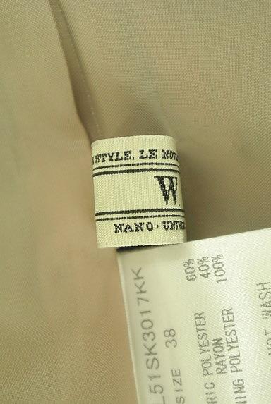 nano・universe(ナノユニバース)の古着「膝上丈チェック柄タックスカート(スカート)」大画像6へ