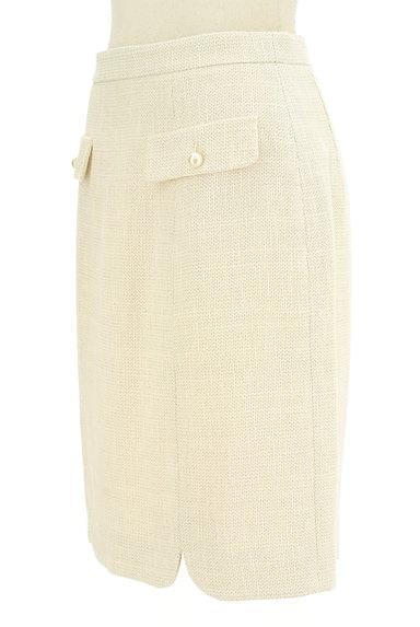 PROPORTION BODY DRESSING(プロポーションボディ ドレッシング)の古着「パール付きフラップポケット膝丈スカート(スカート)」大画像3へ