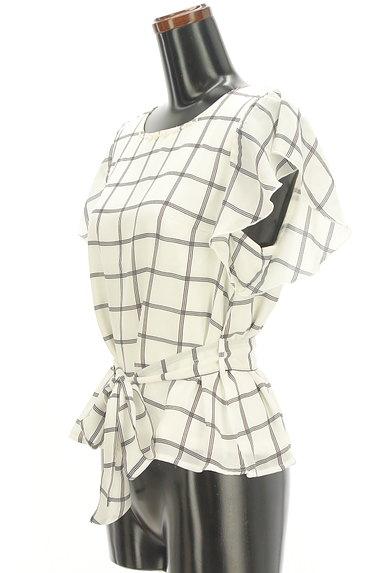 LODISPOTTO(ロディスポット)の古着「フリル袖ウエストリボンカットソー(カットソー・プルオーバー)」大画像3へ