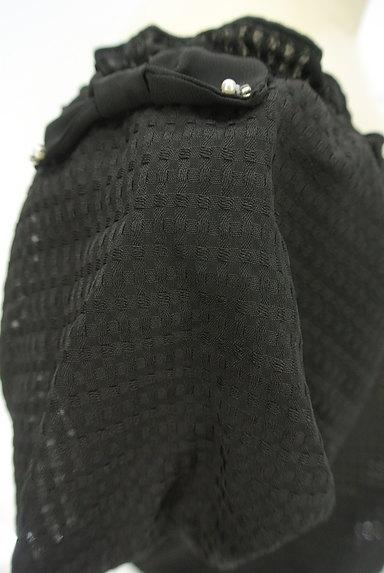 LODISPOTTO(ロディスポット)の古着「バルーン袖チェック柄シアーカットソー(カットソー・プルオーバー)」大画像4へ