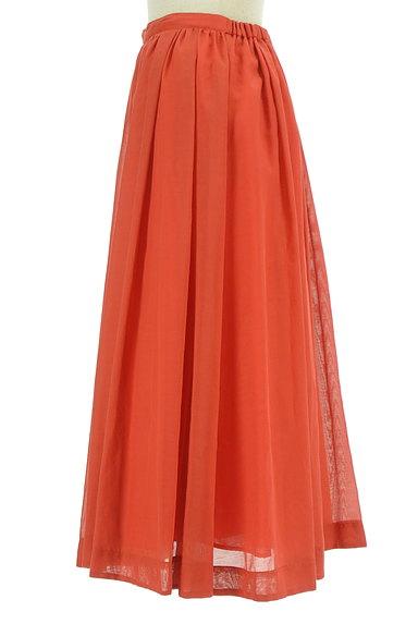 ROSSO(ロッソ)の古着「シアーロングフレアスカート(ロングスカート・マキシスカート)」大画像3へ
