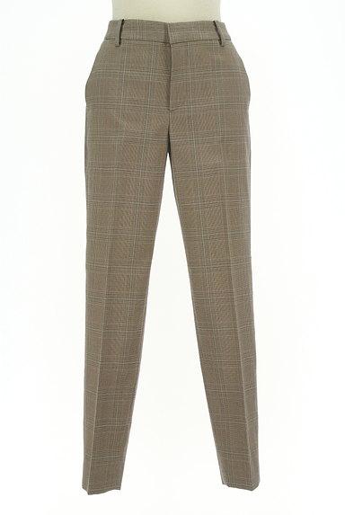 UNITED ARROWS(ユナイテッドアローズ)の古着「チェック柄起毛テーパードパンツ(パンツ)」大画像1へ