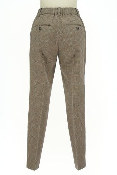 UNITED ARROWS(ユナイテッドアローズ)の古着「チェック柄起毛テーパードパンツ(パンツ)」大画像2へ