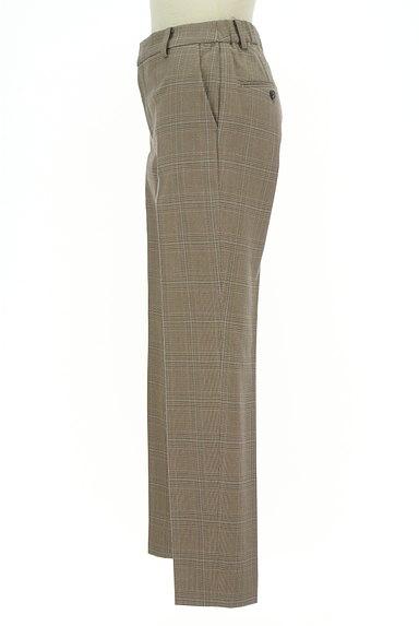UNITED ARROWS(ユナイテッドアローズ)の古着「チェック柄起毛テーパードパンツ(パンツ)」大画像3へ