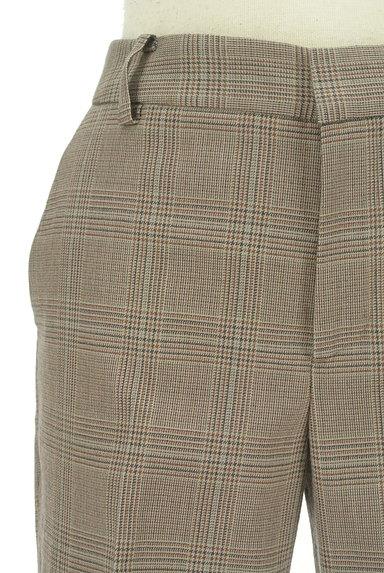 UNITED ARROWS(ユナイテッドアローズ)の古着「チェック柄起毛テーパードパンツ(パンツ)」大画像4へ