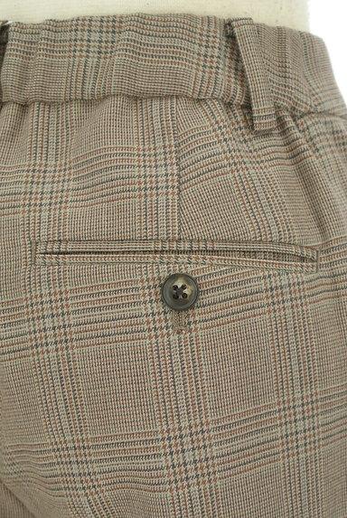 UNITED ARROWS(ユナイテッドアローズ)の古着「チェック柄起毛テーパードパンツ(パンツ)」大画像5へ