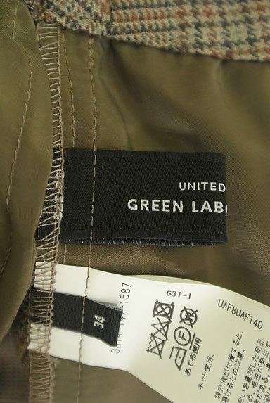 UNITED ARROWS(ユナイテッドアローズ)の古着「チェック柄起毛テーパードパンツ(パンツ)」大画像6へ