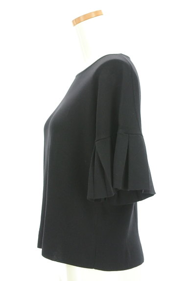 INDIVI(インディヴィ)の古着「ボックスプリーツ袖ニット(ニット)」大画像3へ