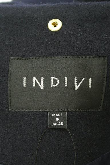 INDIVI(インディヴィ)の古着「ボリュームファーフードロングコート(コート)」大画像6へ