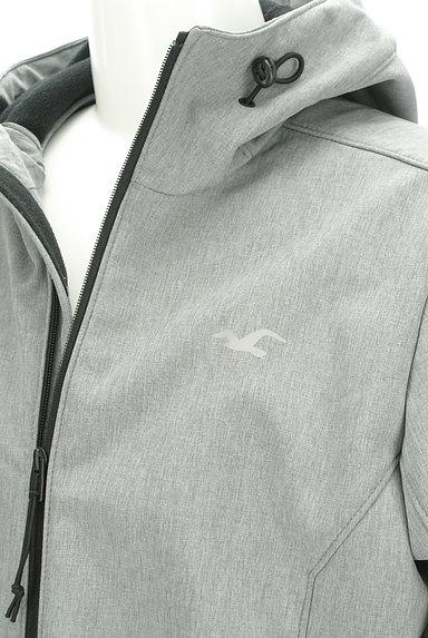 Hollister Co.(ホリスター)の古着「ジップアップフーディブルゾン(ブルゾン・スタジャン)」大画像4へ