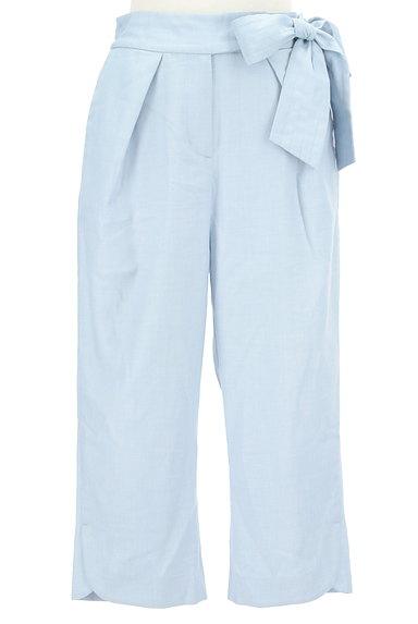 WILLSELECTION(ウィルセレクション)の古着「ウエストリボン付きカプリパンツ(パンツ)」大画像1へ