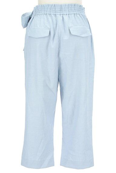 WILLSELECTION(ウィルセレクション)の古着「ウエストリボン付きカプリパンツ(パンツ)」大画像2へ