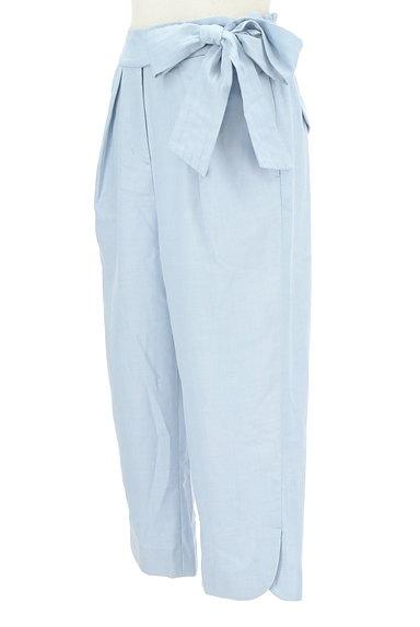 WILLSELECTION(ウィルセレクション)の古着「ウエストリボン付きカプリパンツ(パンツ)」大画像3へ
