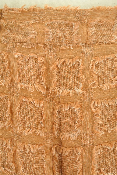 OSMOSIS(オズモーシス)の古着「フリンジスクエア柄ミモレ丈ワイドパンツ(パンツ)」大画像4へ