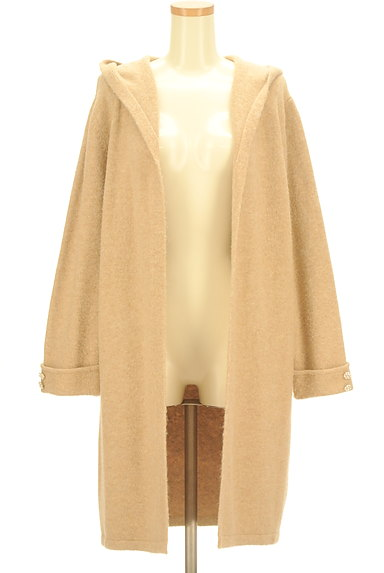 Rirandture(リランドチュール)の古着「袖口装飾フロントオープンロングカーデ(カーディガン・ボレロ)」大画像1へ