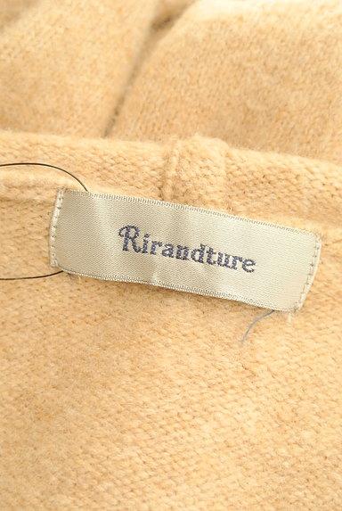 Rirandture(リランドチュール)の古着「袖口装飾フロントオープンロングカーデ(カーディガン・ボレロ)」大画像6へ