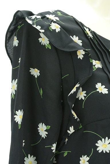 Rirandture(リランドチュール)の古着「花柄七分袖シフォンカットソー(カットソー・プルオーバー)」大画像4へ