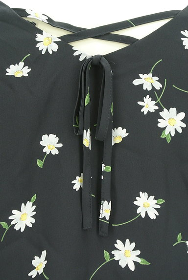 Rirandture(リランドチュール)の古着「花柄七分袖シフォンカットソー(カットソー・プルオーバー)」大画像5へ